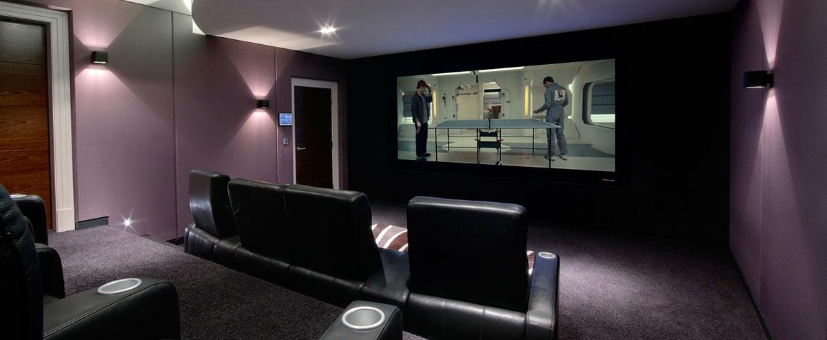 Salas de cine en casa ideas para una sala de cine en casa - Sala de cine en casa ...